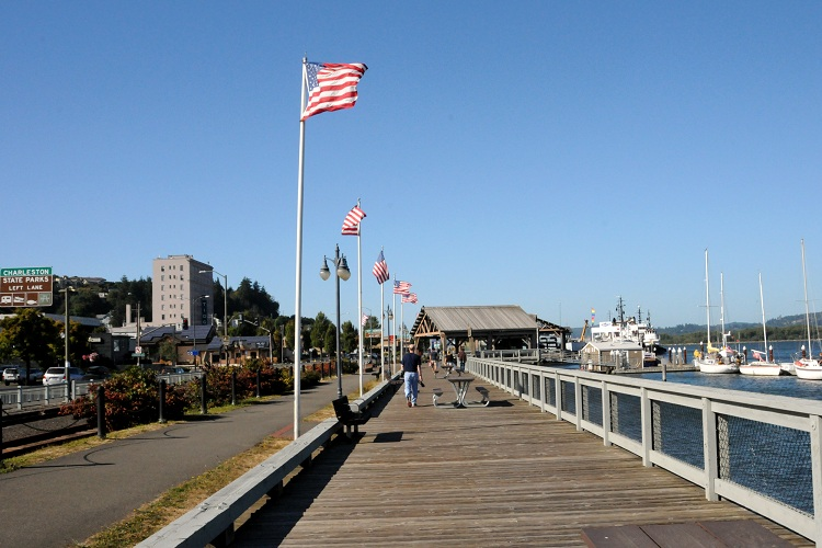 Take a stroll along our historic waterfront