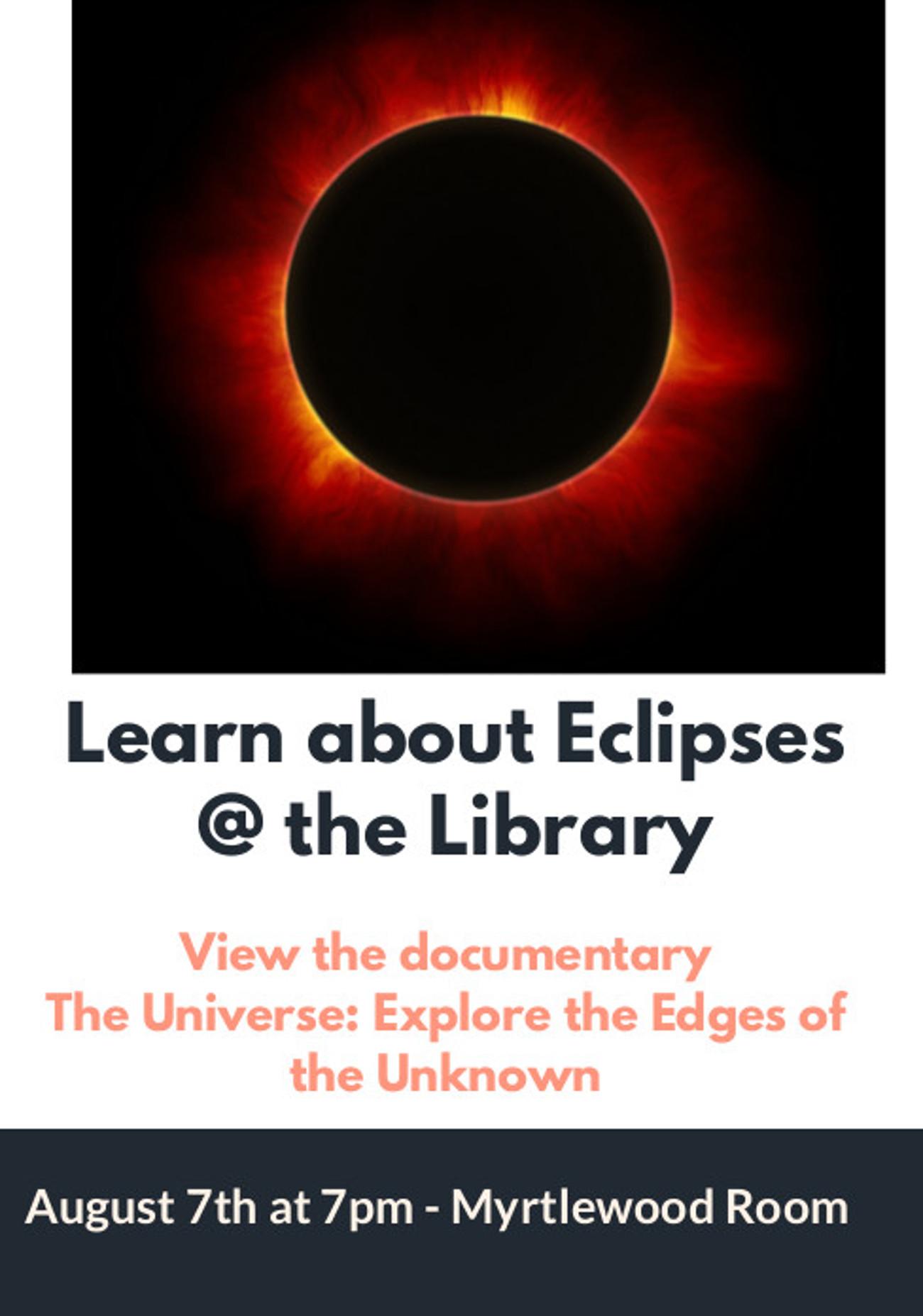 Eclipse episodes for viewing poster