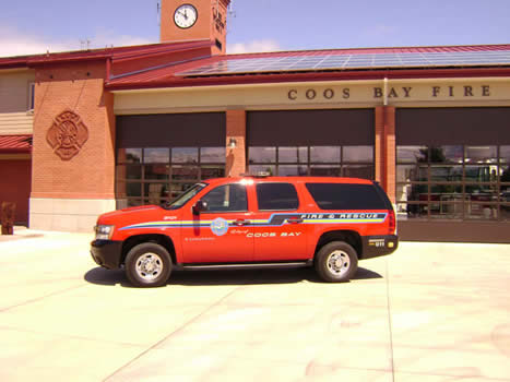 2008 Suburban Command Vehicle
