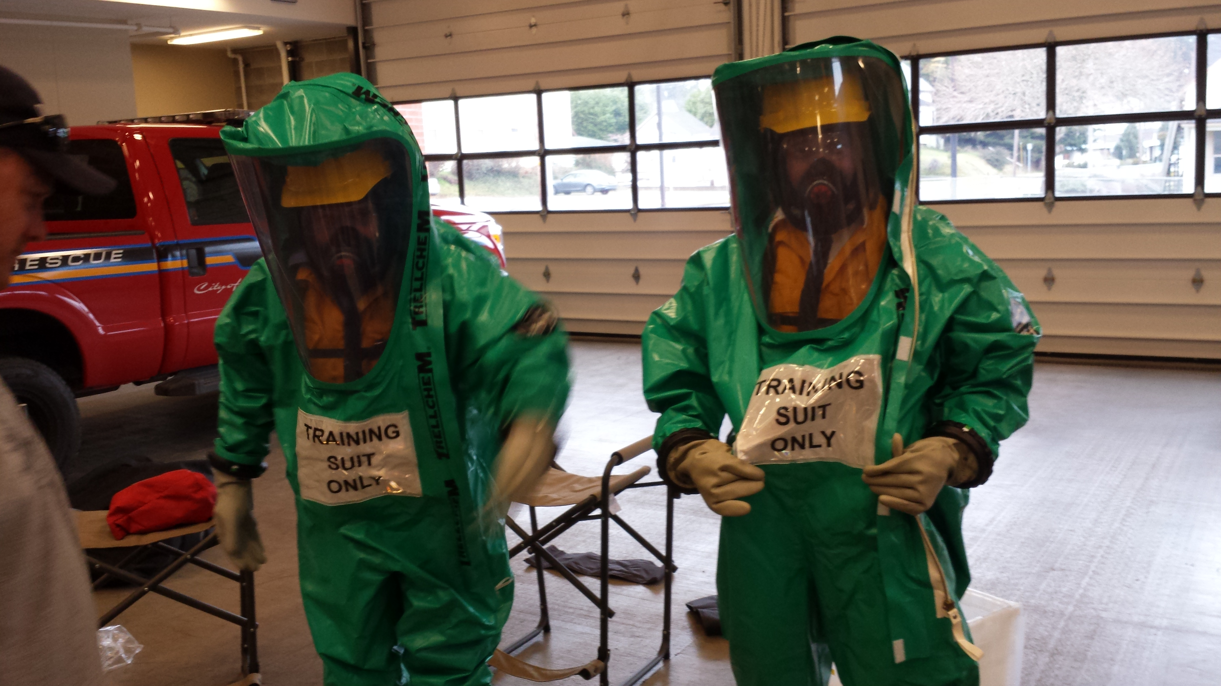 HazMat Team Training