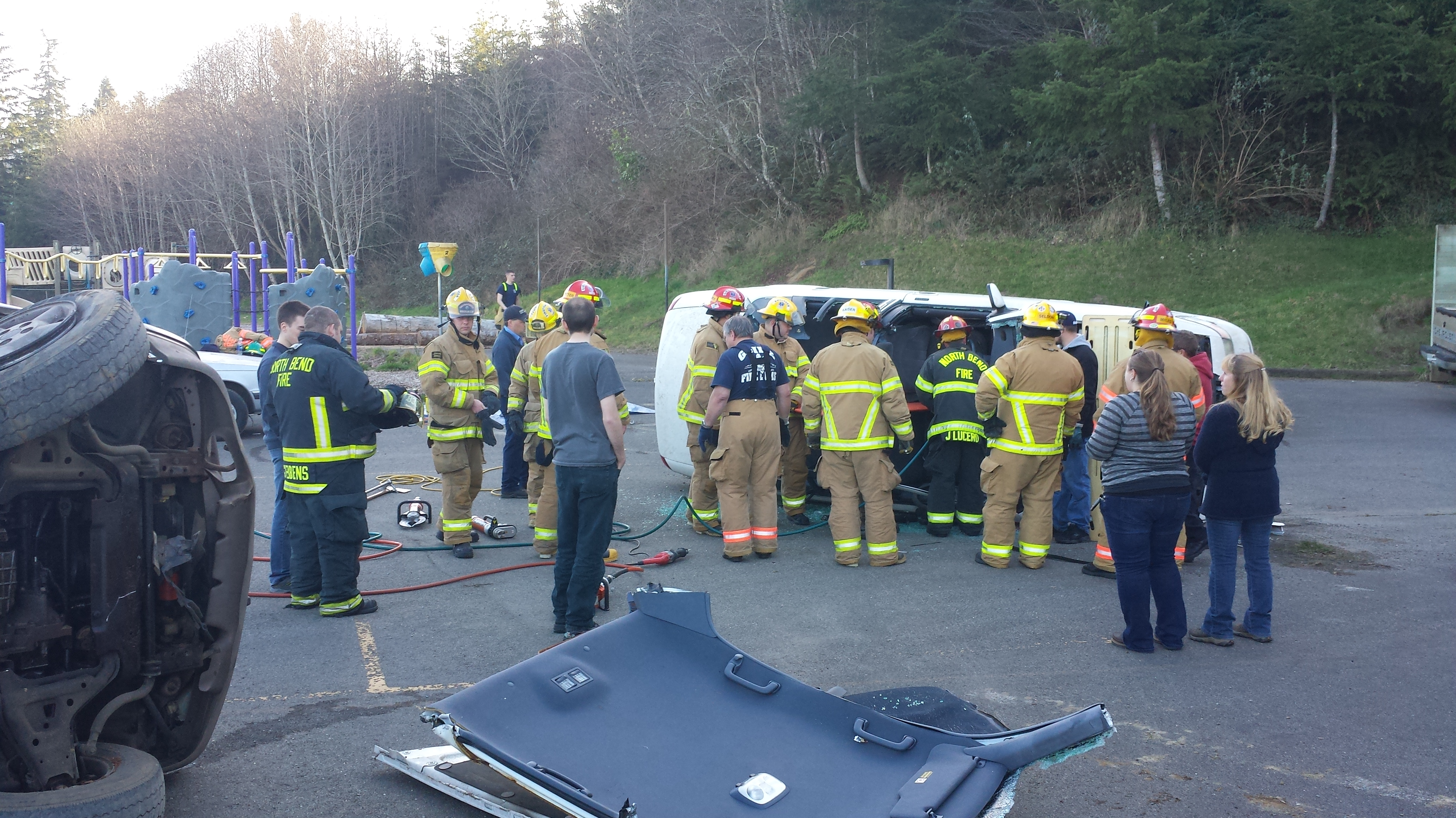 Joint Drill with Charleston, North Bend, and Bay Cities Ambulance