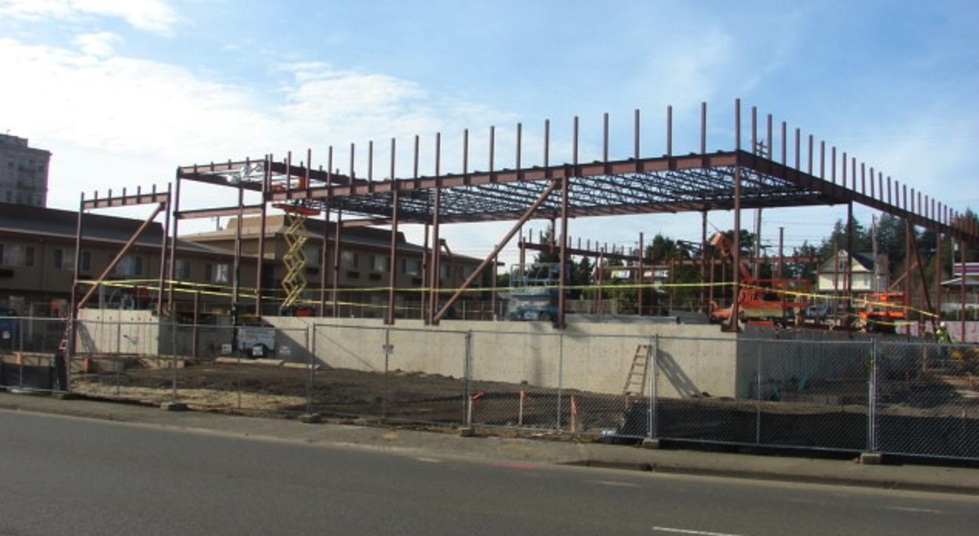 Natural Grocers construction progress