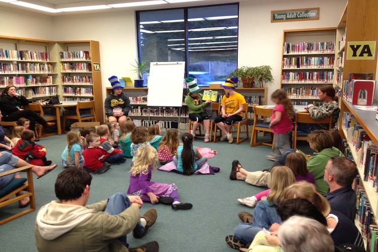 One of many events at your library, check the current events calendar.