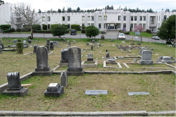 CIty of Coos Bay Marshfield Pioneer Cemetery