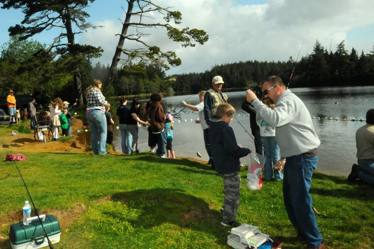 Annual youth fishing derby